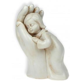 Figurine Fille dans une main 10 cm