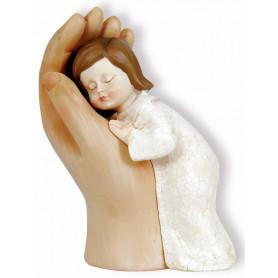 Figurine Fille dans une main 12 cm - 72459