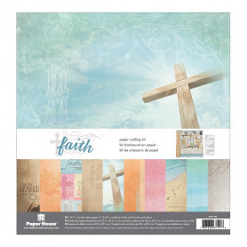 Set de papier 30x30 Faith 10f - Paper House Kit
