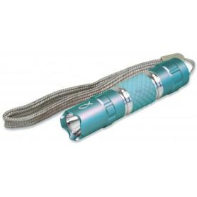 Lampe de poche LED Ichthus 9,5cm bleu – 72207 - Uljo