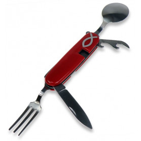 Couteau de poche Ichthus 4 fonctions 9 cm– 72211 - Uljo