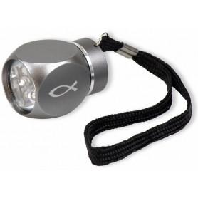 Mini lampe de poche LED Ichthus 4 cm Alu – 72213 - Uljo