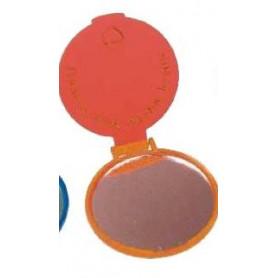 Miroir rond rouge - Dieu m'aime – 714211 - Uljo