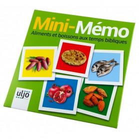 Mini-Mémo aliments et boissons aux temps bibliques - 71279