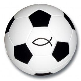 Balle en mousse Foot Ichthus 6 cm - 72053