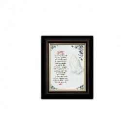 Céramique Notre Père avec cadre – 15x20 cm -76225