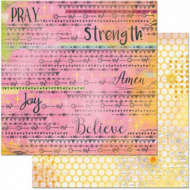 Papier 30x30 Blessings 1f – Bo Bunny Faith
