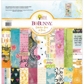 Set de papier 30x30 Faith 18f - Bo Bunny Collection Pack