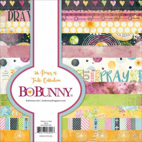 Set de papier 15x15 Faith 36f – Bo Bunny