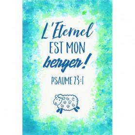 Tableau Aquarelle Enfant – Psaume 23.1 - 20x30 cm