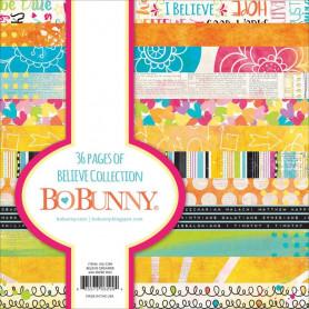Set de papier 15x15 Believe 36f – Bo Bunny