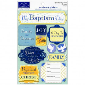 Stickers My Baptism Day - Karen Foster