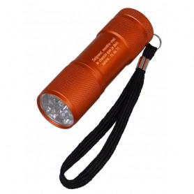 Lampe de poche LED Seigneur montre-moi le chemin - orange – 7155210