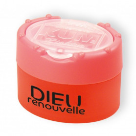 Taille-crayon Dieu renouvelle orange fluo - 7156410 - Uljo