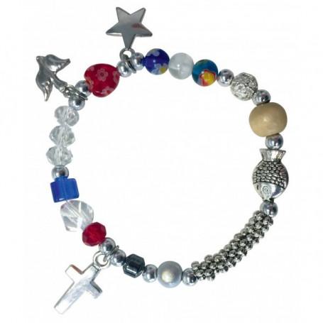 Bracelet avec perles La vie de Jésus pour enfant - 75263 - Uljo