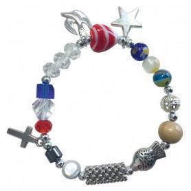 Bracelet avec perles La vie de Jésus pour adulte - 75264 - Uljo