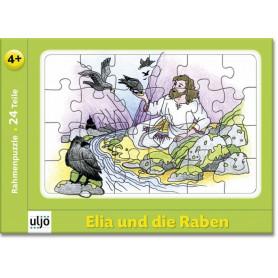 Mini-puzzle Elie et les corbeaux 24 pièces - 71196