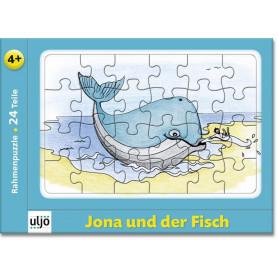 Mini-puzzle Jonas et le poisson 24 pièces - 71195