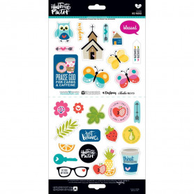 Stickers His Word 27 pc - Illustrated Faith