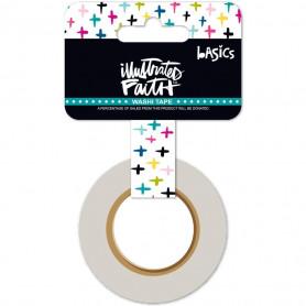 Washi Tape Criss Cross Color - illustrated Faith