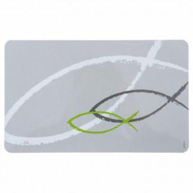 Planche Petit-déjeuner Ichtus gris et vert - 5711