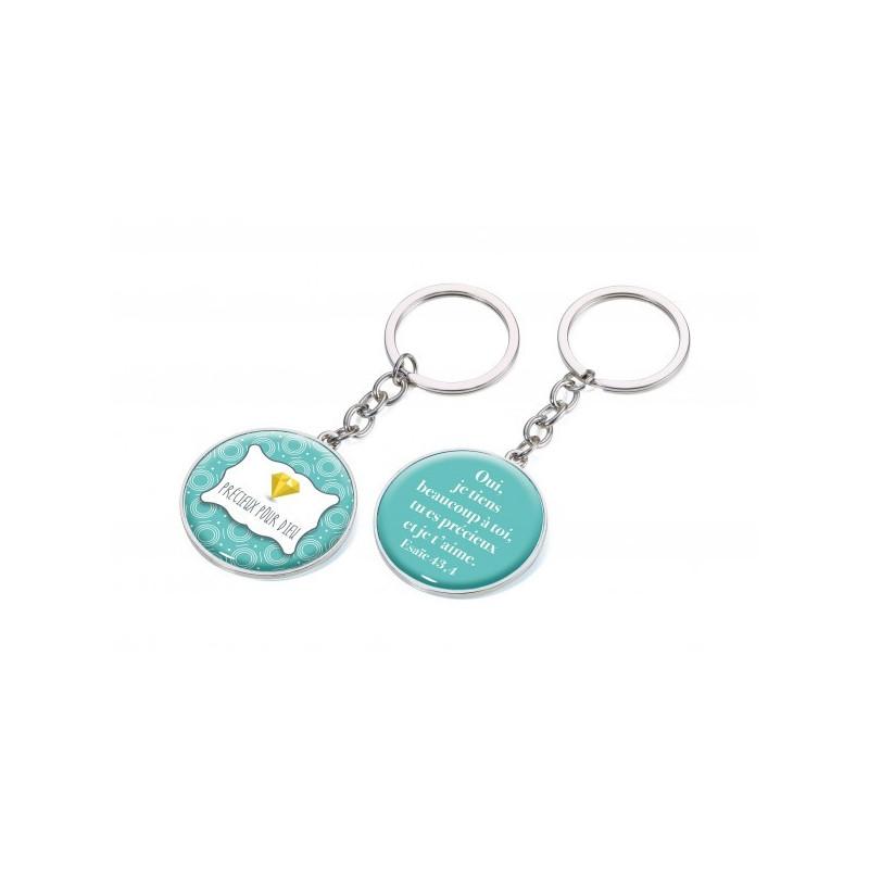 Porte-clés Précieux pour Dieu - 1 pièce - 78629