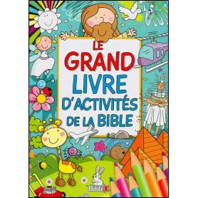 Le grand livre d'activités de la Bible – Editions Bibli'O