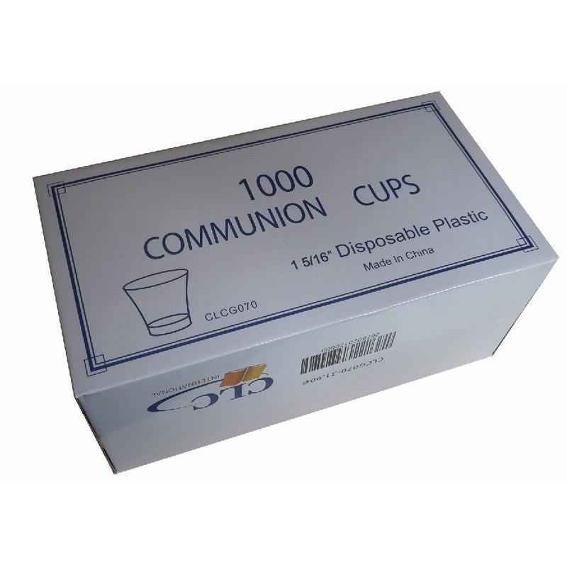 Sainte Cène 1000 gobelets plastique Dimension 15 x 16'' - CLC
