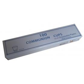 Sainte Cène 100 gobelets plastique Dimension 15 x 16'' - CLC