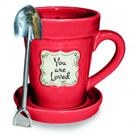 Mug Flower Pot You are Loved