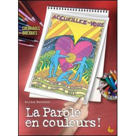La parole en couleurs - coloriages bibliques pour adultes – Editions LLB