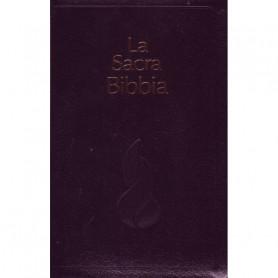 Bible Italien Nuova Riveduta Fibro noir onglets Tr. Or