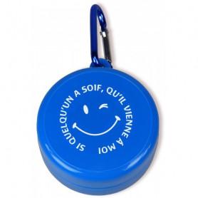 Verre de voyage Si quelqu'un à soif bleu - 72025