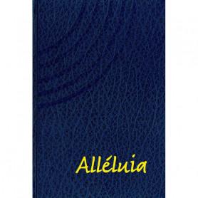 Recueil de chants Alléluia – Petit format rigide bleu
