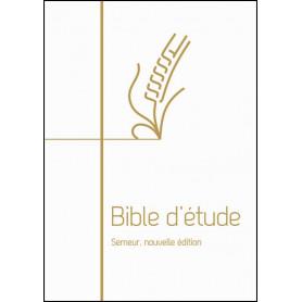 Bible d'étude Semeur Couverture rigide blanche