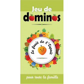 Jeu de dominos Le fruit de l'Esprit – Editions ICharacter
