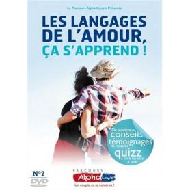 DVD Les langages de l'amour, ça s'apprend - Alpha Couple Soirée 7