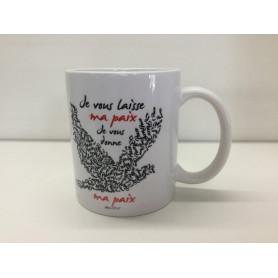 Mug Je vous laisse ma paix – MU2000016