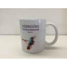 Mug Je chanterai ta force – MU2000017