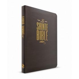 Bible Esaïe 55 Standard souple noire fermeture éclair