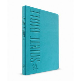 Bible Esaïe 55 Standard souple Turquoise tranche orange