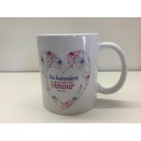 Mug Sa bannière sur moi c'est l'amour – MU2000063