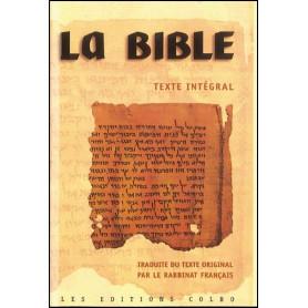 La bible du Rabbinat Français - poche