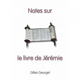 Notes sur le livre de Jérémie – Gilles Georgel