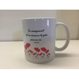 Mug Maman - Ton enseignement est une couronne de grâce pour ma vie – MU2000080