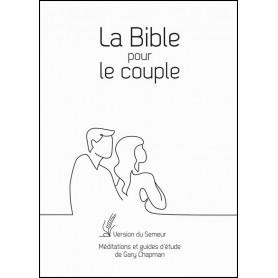 La Bible pour le couple Version Semeur couverture rigide blanche