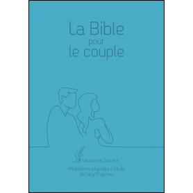 La Bible pour le couple Version Semeur couverture souple bleue