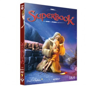 DVD Superbook Saison 1 - Episodes 1 à 3