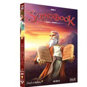 DVD Superbook Saison 2 - Episodes 4 à 6