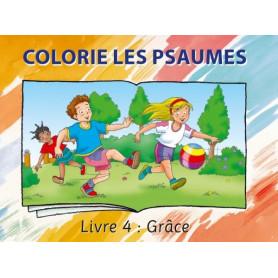Colorie les Psaumes – Livre 4 Grâce